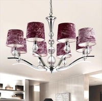 Free Shipping Crystal Modern Chandelier With Eight Lights (220V-240V, 80cm) 10167