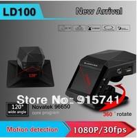 "Newest Original LD100 NOVATEK Car DVR Full HD 1920*1080P 30fps IR Night Vision 2.0"" LCD with G-sensor Car perfume camera"