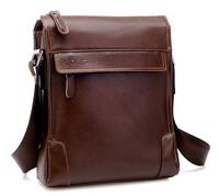 Free Shipping [2 colors] Hot Sale Genuine Leather Promotion Sale New Korean Style Men Messenger Bag Men's Bag Totes 1M043