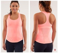 Fashion NWT- lulu lemonTop Lulu lemon Yoga clothogn /Sports Tops for Female.wholesale lululemon Cadio Kick  Tank for women