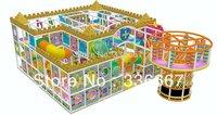 Tincool Amusement Happy Castle Themed Well Designed Indoor Soft Playground Equipment