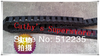 Free shipping for 1000mm*5pcs 10X10 Cable drag chain wire carrier 10*10mm plastic cable drag
