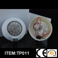 3 inches LED Top Truck Interior Light Trailer Dome light with switth12V Freeshipping