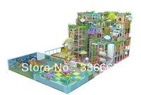 Tincool Amusement Happy Castle Themed Seven Levels Kids Indoor Soft Playground Equipment