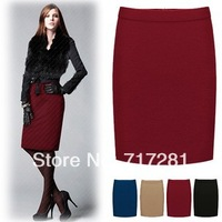 New 2014 Korean fashion OL commuter career package hip skirts Free Shipping      B400
