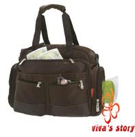 Fisher price mummy shoulder bag multifunctional fisher-price diaper bag  storage women handbag for mother of famous brand logo