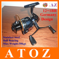 13BB With 5.1:1 Gear Ratio 2013 Most Popular Fishing Reels/Germany Design/2013-2014 Hot!!!