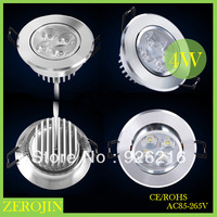 Free shipping (5 pieces/lot) led 4w ceiling light modern white/Warm white AC12v welcome lights wholesale
