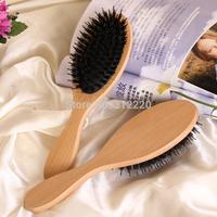 Retail HairBrush,100% pure boar briste hair brushes,+Free shipping,