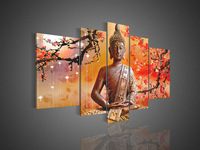 Framed/Free shipping Wall Art Religion Buddha Oil Painting On Canvas  Contemporary Bistro Tables For Home Modern FX610