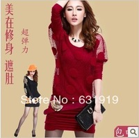 Stella free shipping Fashion loose casual formal ol pencil skirt one-piece dress short skirt autumn winrer dresses women's