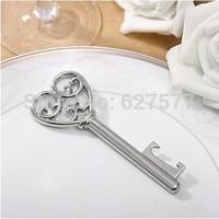 Elegant Heart Key Bottle Opener Wedding Favors with Gift Box
