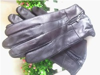 Winter warm high-grade 100% male sheep leather gloves manufacturers selling very low price free shipping3