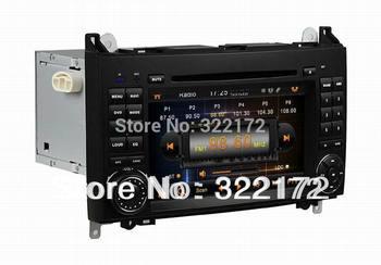 Car Radio Audio DVD Player GPS For Benz A-W169 B-W245 2005~2011 Viano Vito 2009~2011 Free Shipping