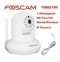 FOSCAM FI9831W HD 960P 1.3 MegaPixel indoor Pan/Tilt Wireless IP Camera Free DDNS White
