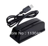 Newest usb2.0 interface Plug and Play Mini Bidirectional Swiping Magnetic Card Reader with 1&2&3 tracks