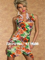 2013 autumn aolover Sexy novelty Skirt  1900 blue, green 2 colors  lady Dress new design wholesale lingerie clothes