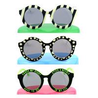 Oculos De Sol HOUSE OF HOLLAND Fashion Tops Candy Color Dot Stripes Sunglasses for Men Women female Brand Designer wholesale