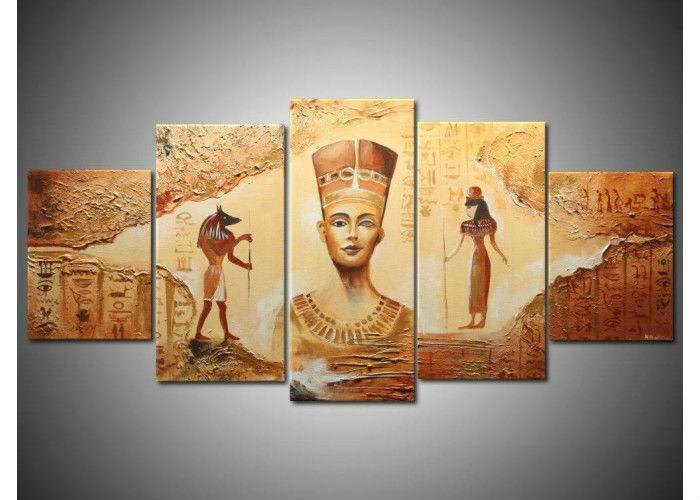 Achetez en gros gyptienne peinture murale en ligne des for Decoration egyptienne murale