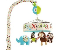 Baby music toys, animal bed bell toy mobile New Cute Lovely Baby music toys Wholesale and retail SKP