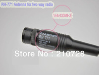 DUAL BAND RH771 Long Antenna SMA-Male for VX-1R, VX-2R, VX-3R radio FM VX-7R VX-6R Free shipping free
