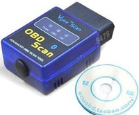 2014 New MINI ELM 327 Bluetooth Vgate Scan OBD2 /OBDII ELM327 V1.5 Wireless Bluetooth Code Scanner Tool Free Shipping