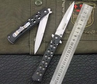 Cold Steel 26SB tactical folding knife ABS handle outdoor camping survival jungle hand tools knives 420A blade 5pcs/lot