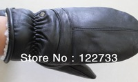 Free shipping! New winter lady bag finger leather gloves