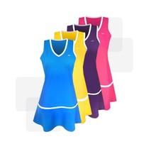 32e теннисный мяч платье трикотажное платье костюмы девушки спортивный с шорты прохладный сухой влаговпитывающая и быстро высыхают