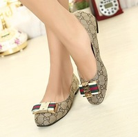 11-free shipping Korean style woman simple flats s/females flat shoes/heorshe/footwear