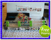 DHL Fedex  freeshipping!500sets/lot Deluxe Magic Loom Kit 2013 hot selling rainbow  loom bands kit