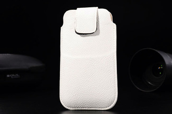 Free Shipping with credit card bag Leather Pouch phone bags cases for asus padfone 2 Cell Phone Accessories