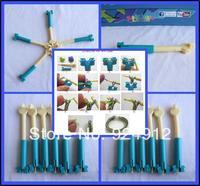 Factory price Loom bands hook 240pcs/ lot loom hook Loom bands Crochet tool DIY rubber bands bracelet making