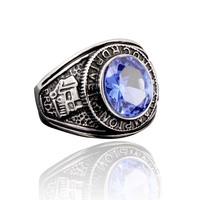 USMC/Signet Ring Vintage Navy Style Titanium Ring Navy USN Male Jewelry Truck Driver Championship Ring