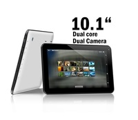 Freeshipping New 10.1'' Dual core Android 4.2 Tablet PC 8GB Dual Camera pc 1GB RAM HDMI 6000MAH battery