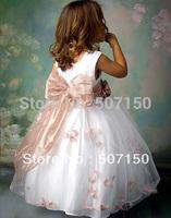 High-grade Dresses,Flower girl dresses for wedding party Children princess dress baby girls' dresses new fashion 2014