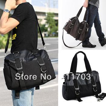 2013 HOT NEW Men's Vintage Canvas Shoulder Bag Handbag Messenger Sling School Male Travelling Bags 16598F