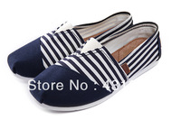 WeiDeng (NOT TOMS) Shoes 2013 Fashion Flat Casual Canvas Shoes Womens Unisex Classic Canvas Espadrilles Shoes Plain  Sneakers