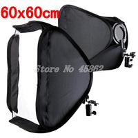 "100% New & High Quality Softbox For Speed Light Flash 60cm / 24"" Flash Speedlite Soft box 60x60cm Free Shipping"