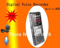 Digital Audio Voice Recorder New 8GB Multi-function USB LCD Digital mini Recorder Dictaphone Phone MP3 Player speaker DVR30