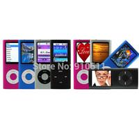 Singpore post 32GB 4th MP3 MP4 Players FM+EBOOK+Voice Recorder 9 colors