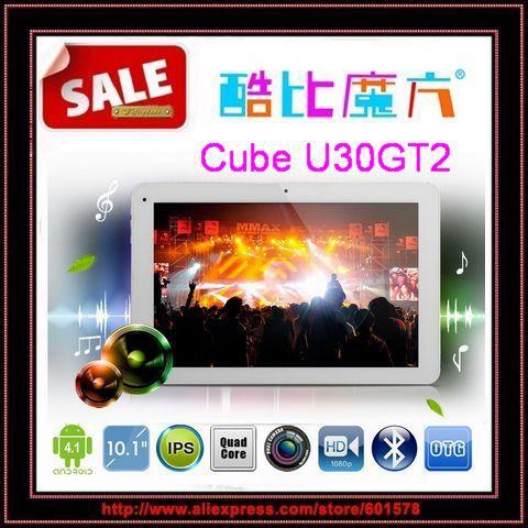 куб u30gt2 rk3188 четырехъядерных процессоров 1.8 ГГц 10.1 дюймовый fhd ips retina экран 2 ГБ 32 ГБ hdmi bluetooth-Камера 5.0MP /jessie