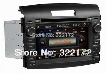 7 Inch Car Radio Audio DVD Player GPS Bluetooth TV iPod For Honda CRV 2012  Free Shipping