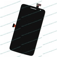Free Shipping New Original Replace Touch screen Digitizer +LCD Display Fo Alcatel One Touch Scribe HD OT-8008D Phone