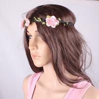 NEWS women  fashion hand-string pearl twist weave hair band, flower headband, hairband  hair accessories