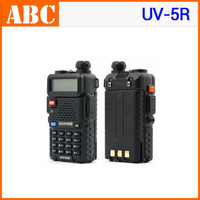 free shipping BaoFeng UV-5R Walkie Talkie 136-174MHz & 400-520MHz Interphone Transceiver A0850A Two-Way FM Radio Mobile Handled