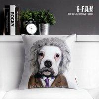 wholesale! NEW Creative original single cute cartoon Dog plush pillow sofa cushion car office nap cushion pillow cover