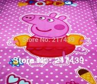 EMS Free Shipping AU NZD Peppa Pig George Pig Minicraft girl girls boy boys kids Fleece soft comfortable Blanket Blankets