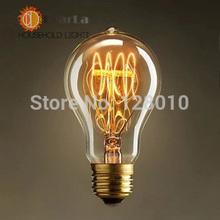 A19 Edison Bulb E27 Incandescent Vintage Light Bulb,Household/Bar/Coffee Shop/Hotel /Dress Shop Retro/Classic/ Light Bulbs(China (Mainland))