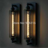 Free shipping american loft E27 edison wall lamp/vintage wall lamp/entranceway dining room wall light for home 220-240V